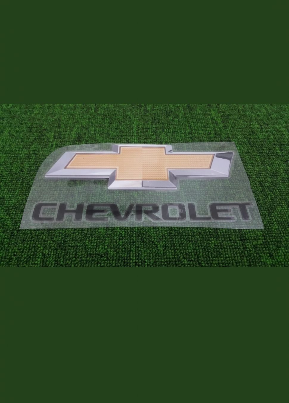 Logo Chevrolet đen black decal