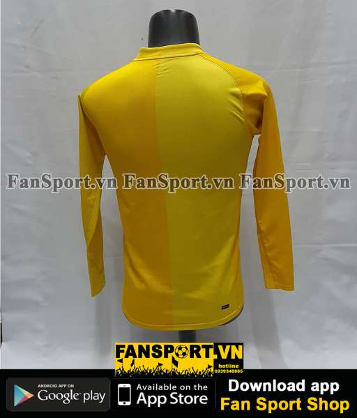 Áo GK Manchester United 2006-2007 home goalkeeper shirt jersey yellow