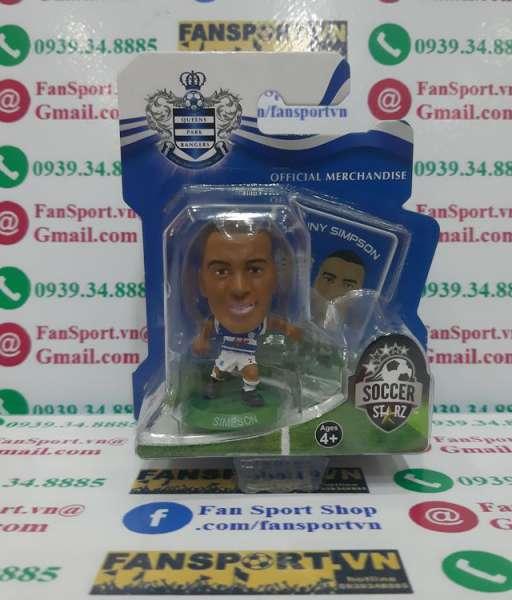 Tượng Danny Simpson #2 Queens Park Rangers 2013-2014 home Soccerstarz