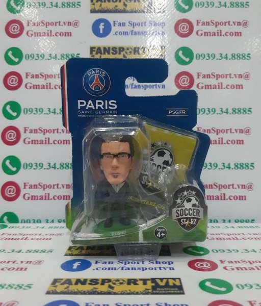 Tượng Laurent Blanc PSG 2013-2014-2015-2016 coach Soccerstarz figure