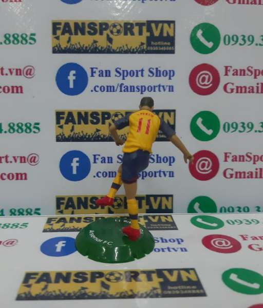 Tượng Van Persie #11 Arsenal 2008-2009 away FT Champs mini figure