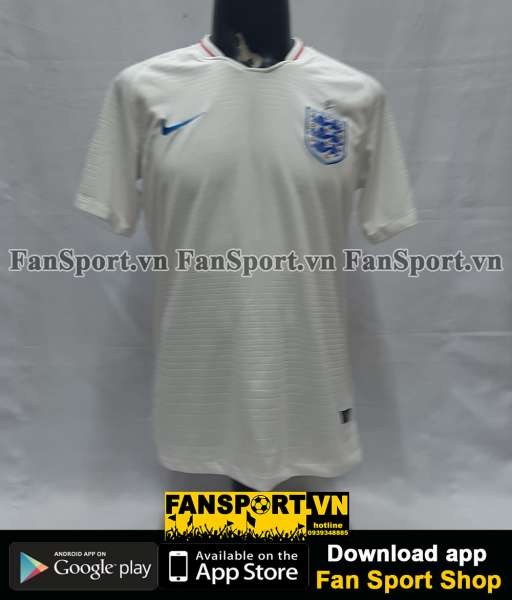 Áo đấu England 2018-2019 home shirt jersey white World Cup
