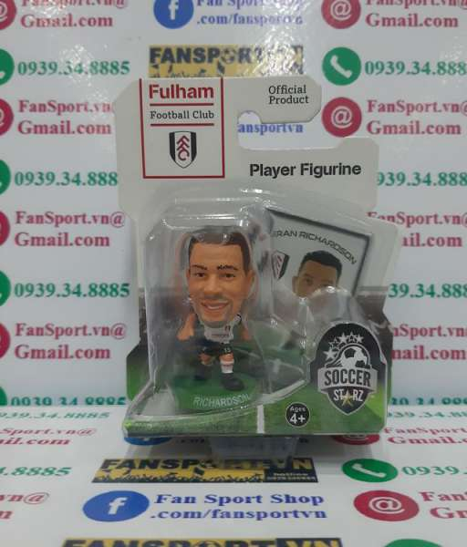 Tượng Kieran Richardson #15 Fulham 2013-2014 home Soccerstarz figure