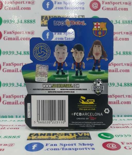 Tượng Victor Valdes #1 Barcelona 2013-2014 home Soccerstarz figure