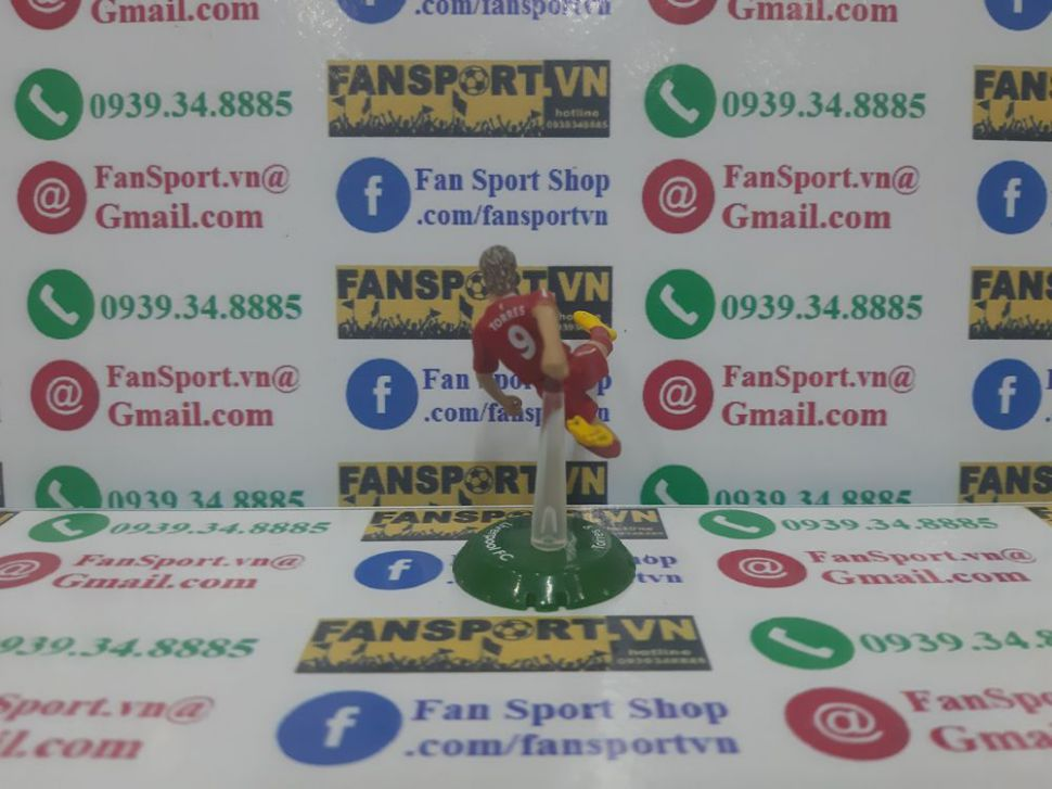 Tượng Fernando Torres #9 Liverpool 2008-2010 home FT Champs mini