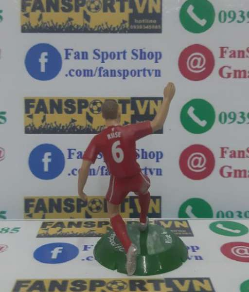 Tượng John Arne Riise #6 Liverpool 2008-2010 home FT Champs mini