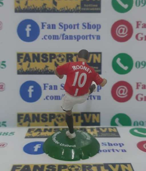Tượng Wayne Rooney #10 ManUtd 2007-2009 home FT Champs mini figure