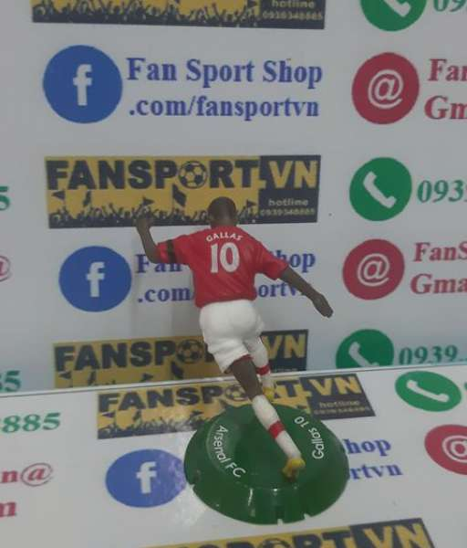 Tượng William Gallas #10 Arsenal 2008-2010 home FT Champs mini figure