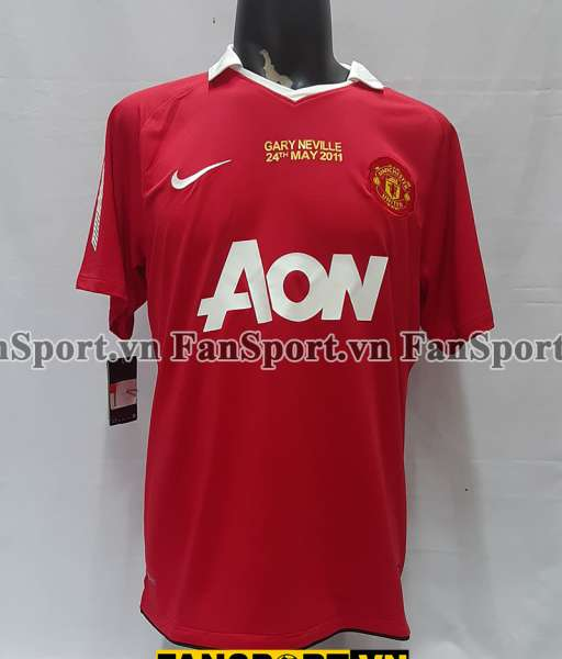 Home 2010-2011 Manchester United shirt jersey
