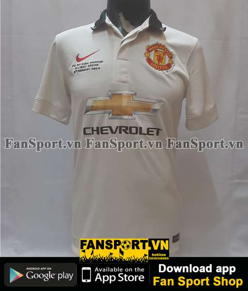 Áo Manchester United Legend Munich Allianz Arena 2014 away shirt 2015