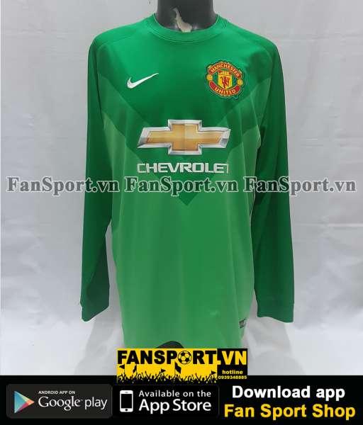 Áo thủ môn Manchester United 2014-2015 third goalkeeper shirt jersey