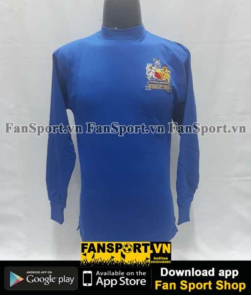 Box áo Manchester United 1968 Score Draw official retro set blue shirt
