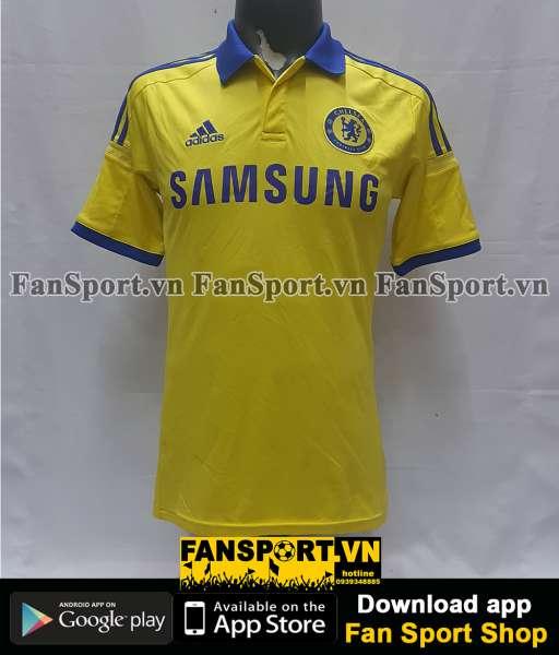 Áo đấu Eden Hazard #10 Chelsea 2014-2015 away yellow shirt jersey