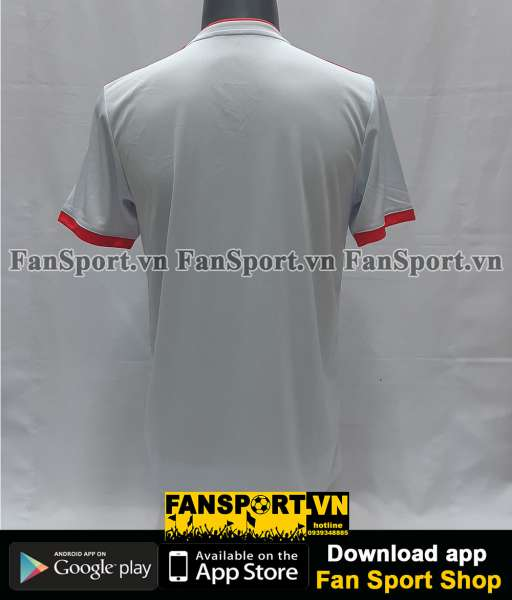 Áo đấu Spain 2018-2019 away shirt jersey white World Cup