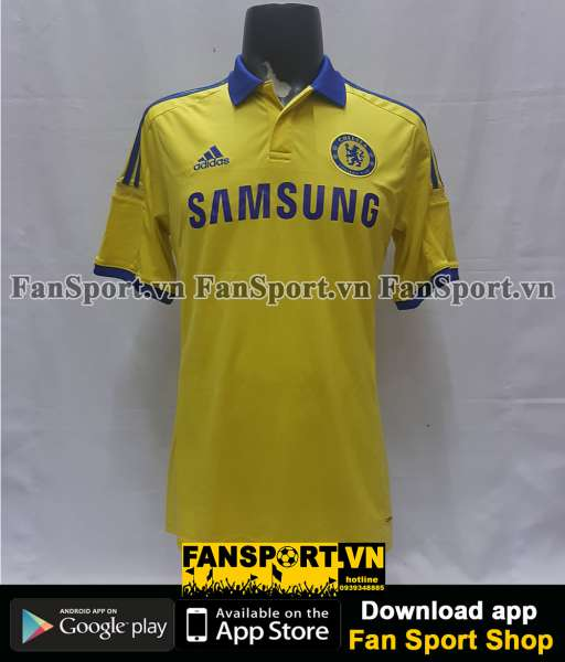 Áo đấu Chelsea 2014-2015 away yellow shirt jersey