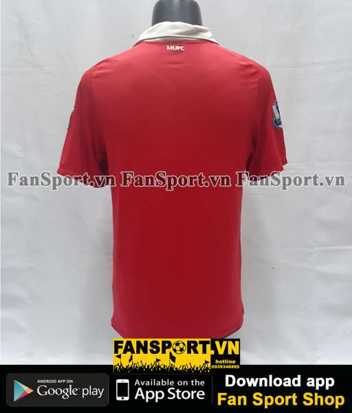 Áo đấu Manchester United 2010-2011 home shirt jersey red
