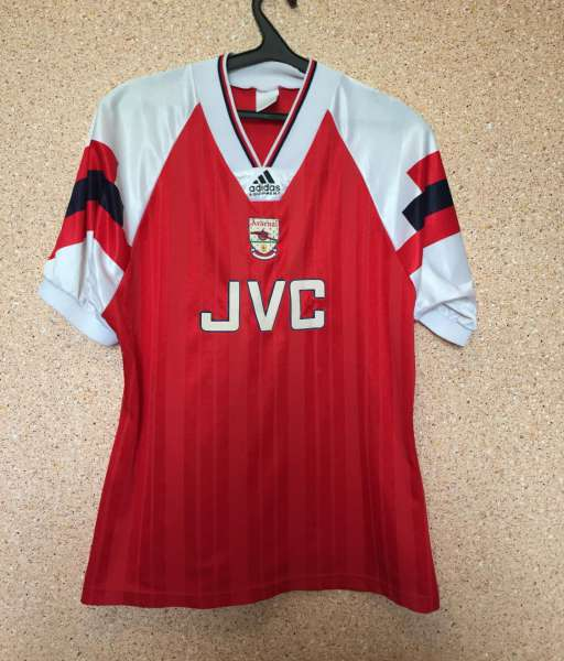 Home 1992-1994 Arsenal - shirt jersey red áo đấu bóng đá