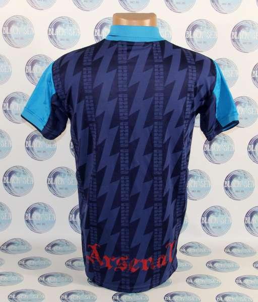 Away 1994-1995 Arsenal - shirt jersey blue áo đấu bóng đá