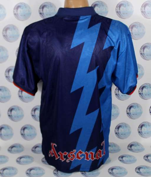 Away 1995-1996 Arsenal - shirt jersey blue áo đấu bóng đá