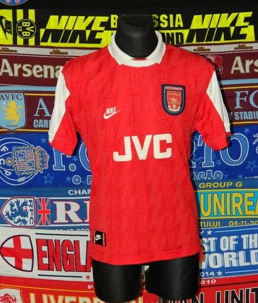 Home 1994-1995 Arsenal - shirt jersey red áo đấu bóng đá