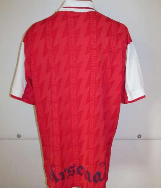 Home 1995-1996 Arsenal - shirt jersey red áo đấu bóng đá