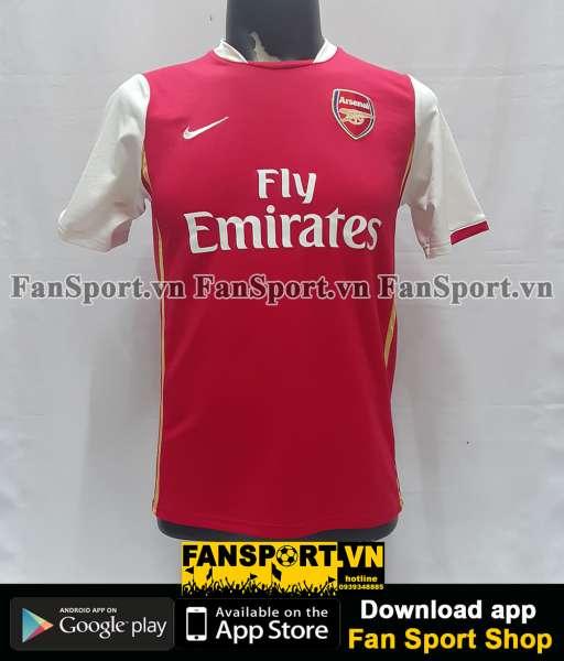 Áo đấu Fabregas #4 Arsenal 2006-2007-2008 home shirt jersey red