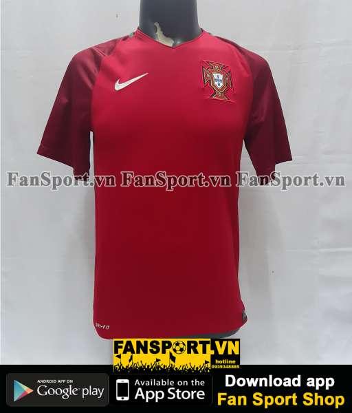 Áo đấu Portugal 2016-2017-2018 home shirt jersey red