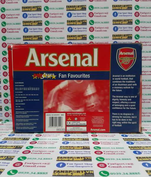 Bộ tượng Arsenal 2003-2004 Premiership Champion Fan Favourites Prostar