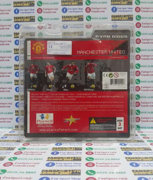 Tượng Giggs #11 Manchester United 2004-2006 home figure stars of sport