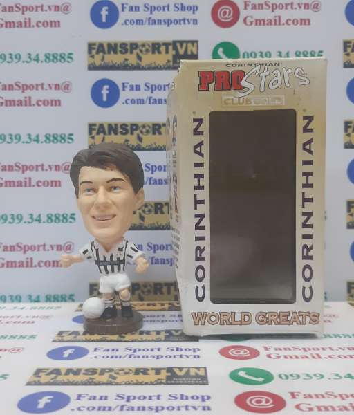 Tượng Michale Laudrup #11 Juventus 1985-1989 home corinthian CG231