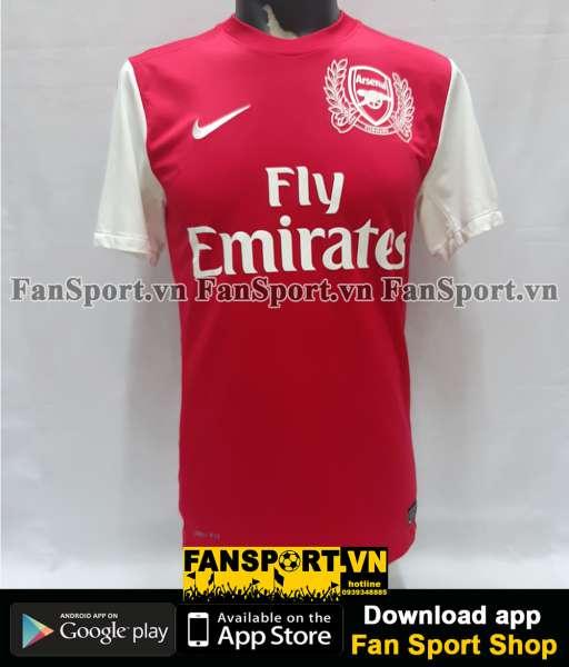 Áo đấu Walcott #14 Arsenal 2011-2012 home shirt jersey red