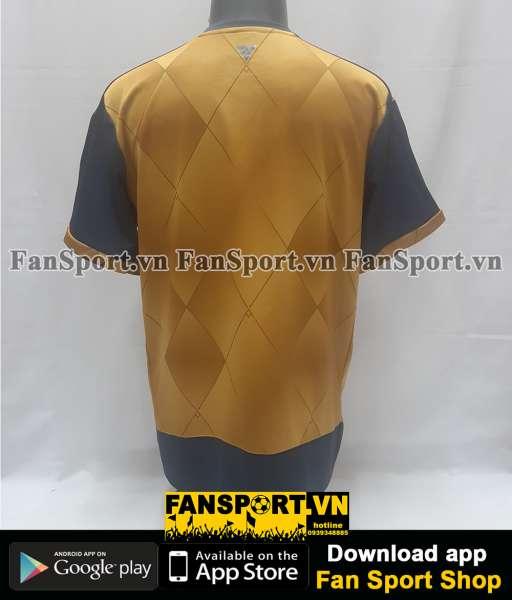 Áo đấu Arsenal 2015-2016 away shirt jersey yellow brown