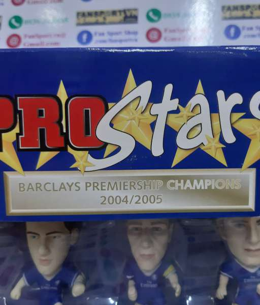 Bộ tượng Chelsea 2004-2005 Premiership Champions Winner Corinthian