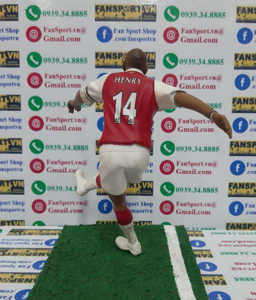 Tượng Thierry Henry 14 Arsenal 2006-2007-2008 home FT Champs figure