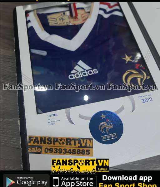 Box France World Cup 2010 home shirt jersey Limited Edition Adidas