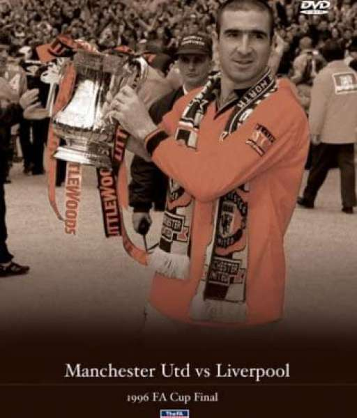 DVD Book Manchester United FA cup Final 1996