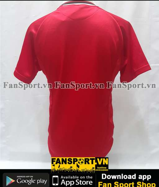 Áo testimonial Sir Alex Ferguson Manchester United 1999 home shirt red