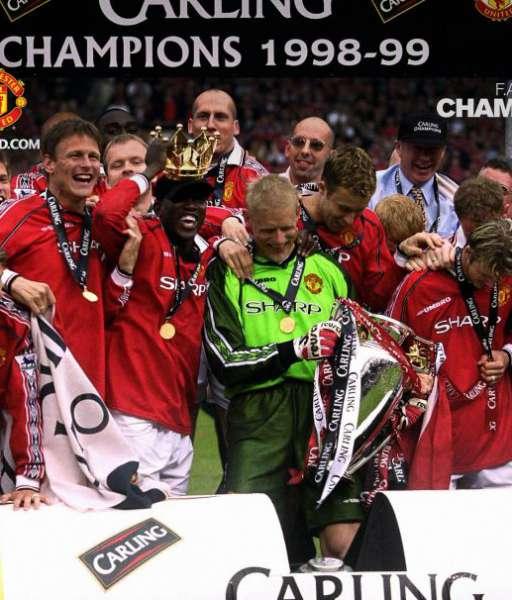 1998-1999 Premiership Manchester United champion winner medal gold