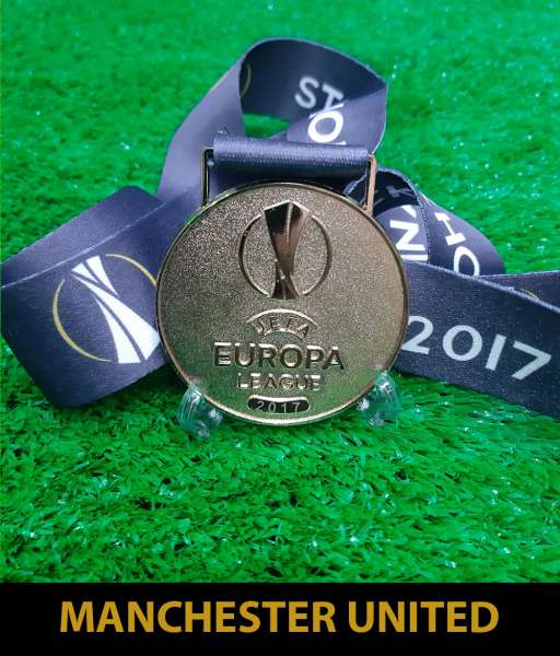2017 Europa League Cup Manchester United champion medal gold 2016