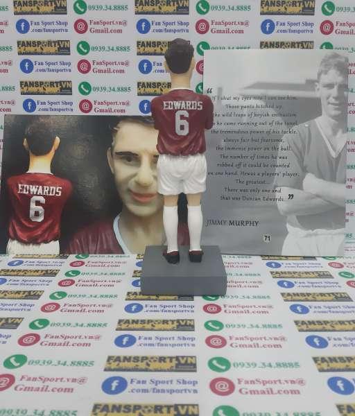 Tượng Duncan Edwards 6 Manchester United 1958 home figure Limited seri