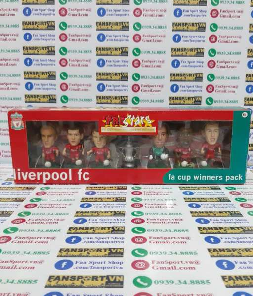 Box Liverpool 2006 FA Cup winner celebration corinthian limited pack
