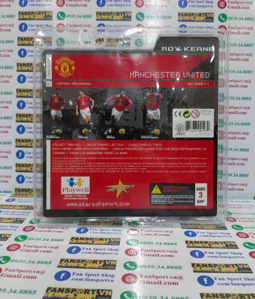 Tượng Keane 16 Manchester United 2004-2005-2006 home figure FT Champs