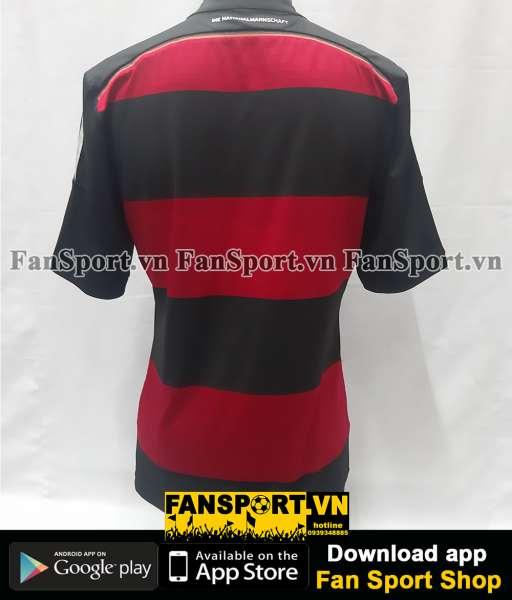 Áo đấu Germany 2014-2015 away shirt jersey red black World Cup