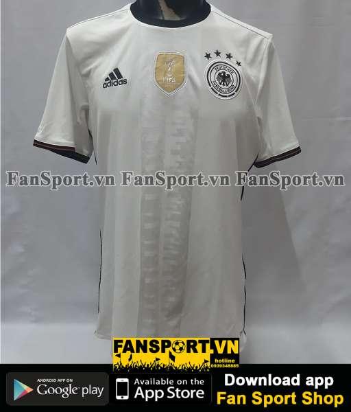 Áo đấu Germany 2016-2017 home shirt jersey white Euro European