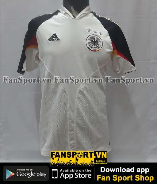 Áo đấu Germany 2004-2005 home shirt jersey white Euro