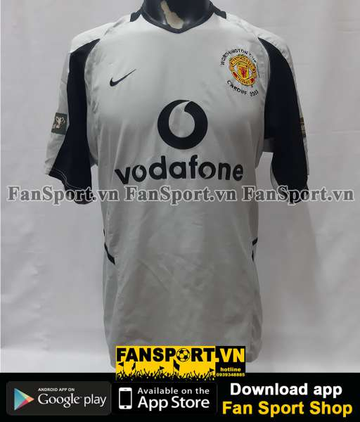 Áo GK Manchester United Worthington League Cup Final 2003 shirt jersey