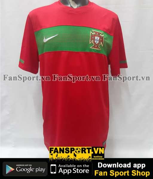 Áo đấu Portugal World Cup 2010 home shirt jersey red 2011 2012