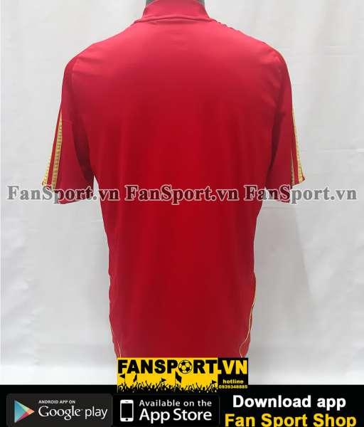 Áo đấu Spain 2008-2009 home shirt jersey red Euro champions