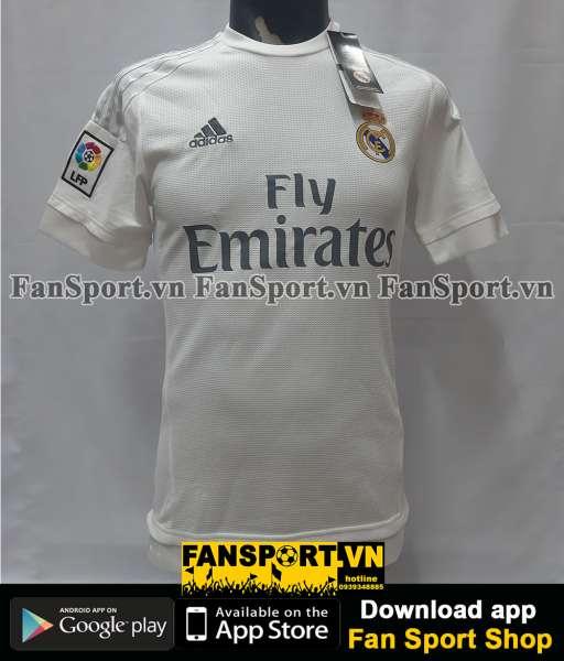 Áo đấu Real Madrid 2015-2016 home shirt jersey white
