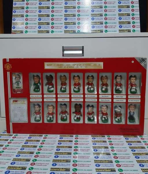 Box Manchester United 2007-2008 winners Celebration corinthian 0469